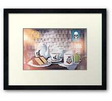 221Tea Framed Print