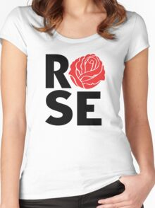 Rose Women's Fitted Scoop T-Shirt