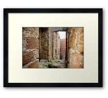 New Slains Castle Inside View (Cruden Bay, Aberdeenshire, Scotland) Framed Print