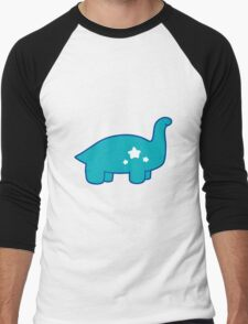 Cute Star Dino Men's Baseball ¾ T-Shirt