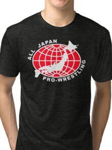 Classic Wrestling - All Japan Pro Wrestling AJPW Tri-blend T-Shirt
