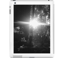 red woods lens flare iPad Case/Skin