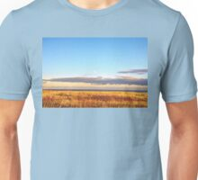 Sunset on Golden Field - Aberdeenshire, Scotland Unisex T-Shirt
