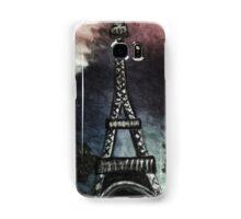 eiffel tower (dark) Samsung Galaxy Case/Skin