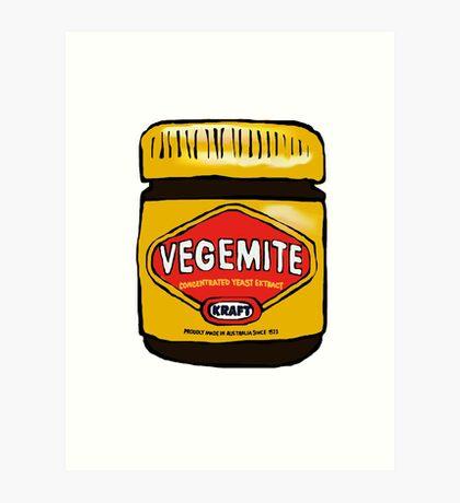 Vegemite- Australia Art Print