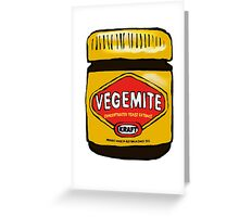 Vegemite- Australia Greeting Card