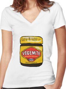 Vegemite- Australia Women's Fitted V-Neck T-Shirt