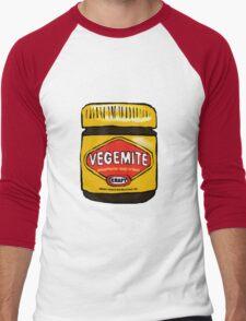 Vegemite- Australia Men's Baseball ¾ T-Shirt