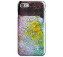 A Floating Friend in the Deep Blue Sea iPhone Case/Skin