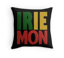 Irie Mon! Throw Pillow