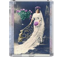 Vintage Bride iPad Case/Skin