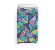 Multi-colored Polygonal Design Duvet Cover