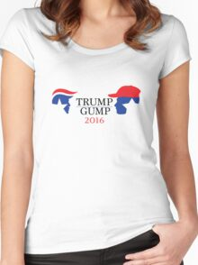 Trump - Gump 2016 Women's Fitted Scoop T-Shirt