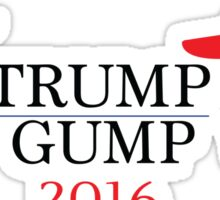 Trump - Gump 2016 Sticker