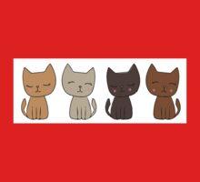 4 Little Kittens One Piece - Long Sleeve