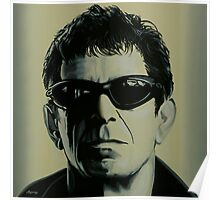 Lou Reed Painting Poster