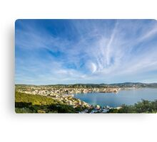 Wellington - Harbor City Metal Print