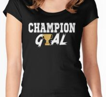 Champion Gyal Women's Fitted Scoop T-Shirt