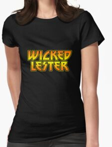 Wicked Lester Womens Fitted T-Shirt