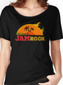 Welcome to Jamrock Women's Relaxed Fit T-Shirt