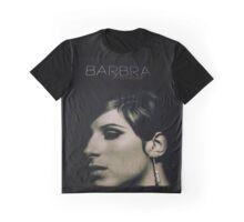 Barbra Streisand Promo Poster / Mixed Media Graphic T-Shirt