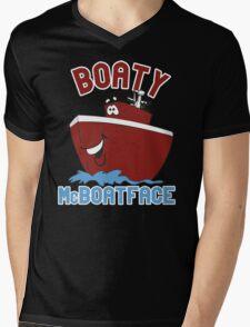 Boaty McBoatface Mens V-Neck T-Shirt