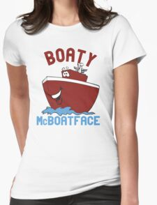 Boaty McBoatface Womens Fitted T-Shirt