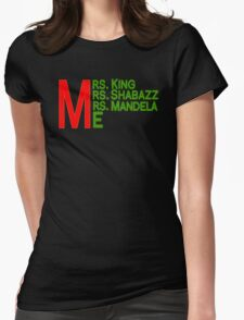 Mrs. and Me Womens Fitted T-Shirt