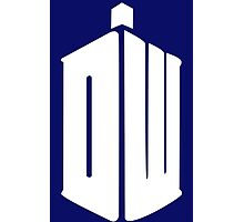 Dr-Who-DW Photographic Print