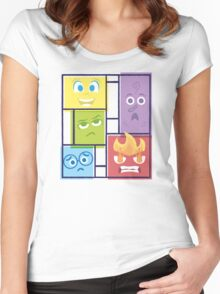Composition of Emotions Women's Fitted Scoop T-Shirt