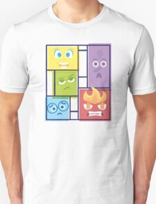 Composition of Emotions Unisex T-Shirt