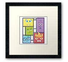 Composition of Emotions Framed Print