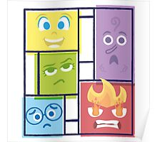 Composition of Emotions Poster