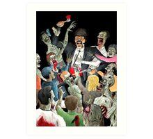 Jules Vs The Undead Art Print