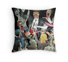 Jules Vs The Undead Throw Pillow