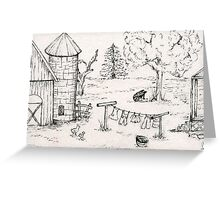 Country Life No.1 Greeting Card