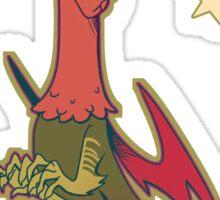 Colourful Cryptids - Jersey Devil Sticker