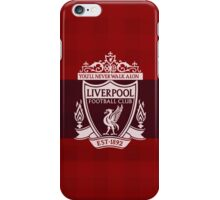 red liverpool iPhone Case/Skin