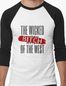 Wicked Bitch Of The West Men's Baseball ¾ T-Shirt