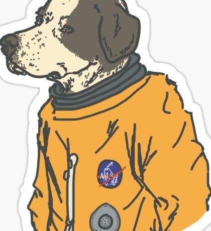 space dog Sticker