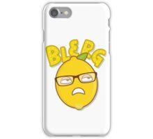 Blerg iPhone Case/Skin