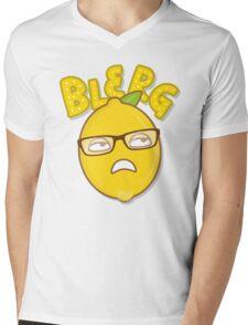 Blerg Mens V-Neck T-Shirt