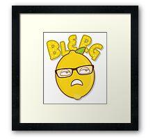 Blerg Framed Print