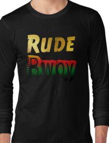 Jamaican Rude Bwoy Long Sleeve T-Shirt