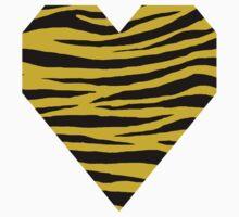 0460 Old Gold Tiger Kids Tee