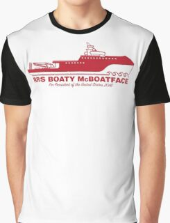 Boaty McBoatface For President Graphic T-Shirt
