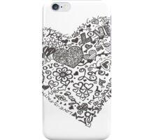 Love is a Verb iPhone Case/Skin