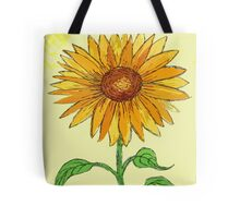 Sunflower in the Summer  Tote Bag
