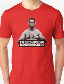 Nate Diaz UFC - Not Surprised T-Shirt