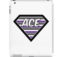 Asexualise Asexual Superman Style ACE Design iPad Case/Skin